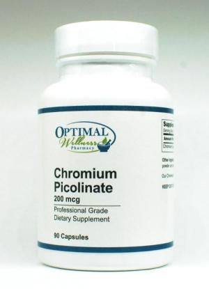 Chromium Picolinate (Supports Healthy Blood Sugar Levels)