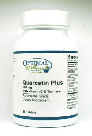 Quercetin Plus (500 mg with Vitamin C & Turmeric)