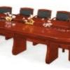 Table Réunion MDF, C-8[600X200X76], Acajou
