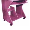 Table PC PM Cyber, Mélaminé 60 cm Pied,TL0001