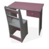 Bureau Enfant+01T+Chaise [80X40X60], BLM0024R,