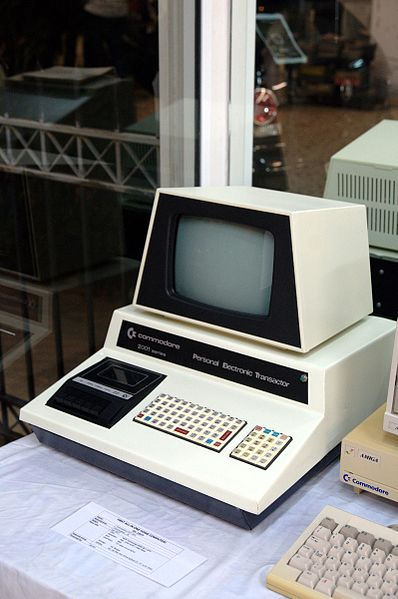 Commodore PET 2001. Photo by Soupmeister