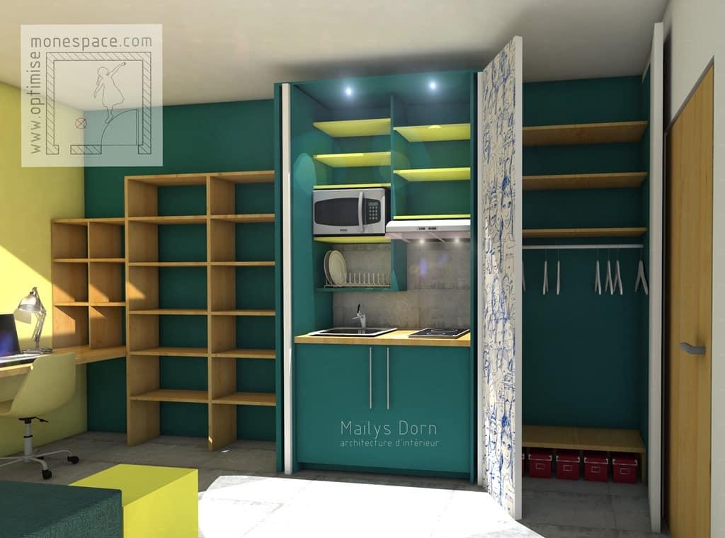 Mieux agencer son espace 3 conseils optimise mon espace - Agencer une chambre ...
