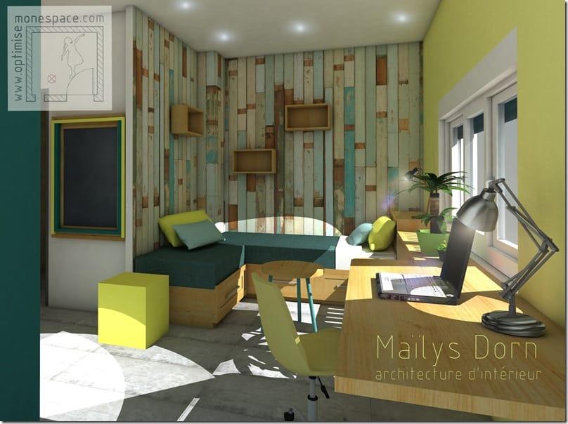 Mieux agencer son espace : chambre d'étudiant