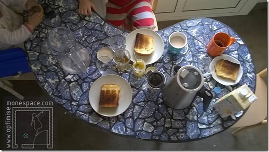 petit dejeuner surprise