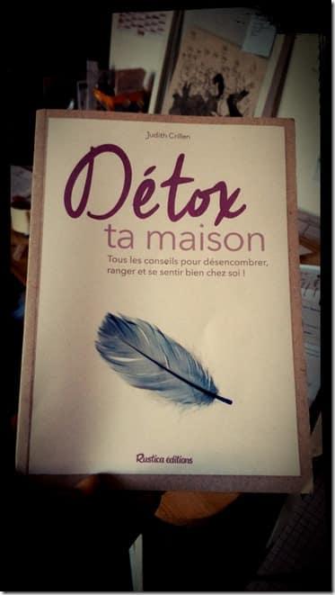 Detox ta maison le livre Home Organising