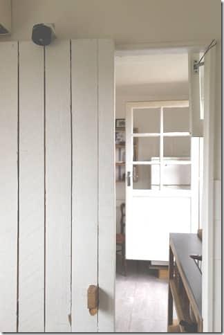 porte coulissante en bois de palette