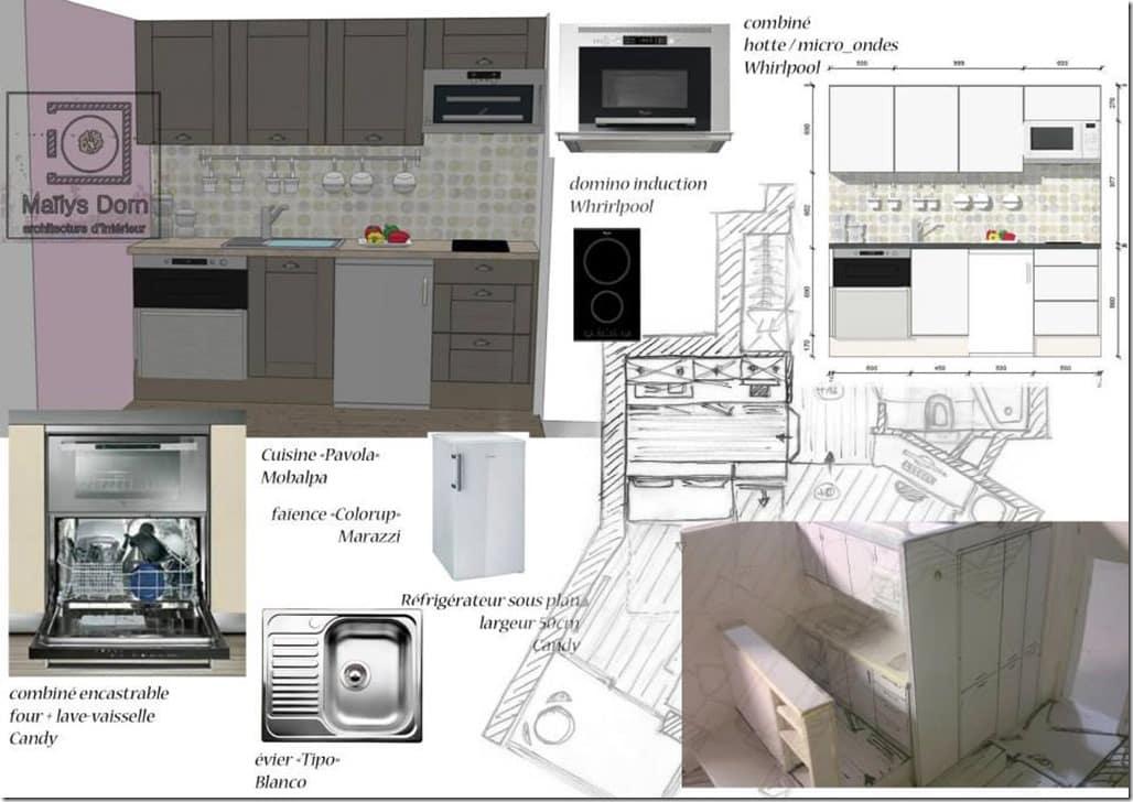 cuisine gain de place petit espace