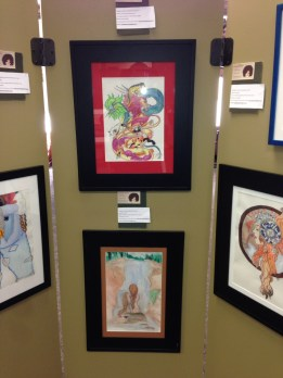 AMASEPIA'S art at Merrimack Bank, Concord