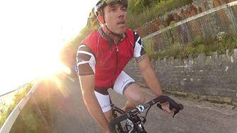 Екстремно колоездене… с шосеен велосипед