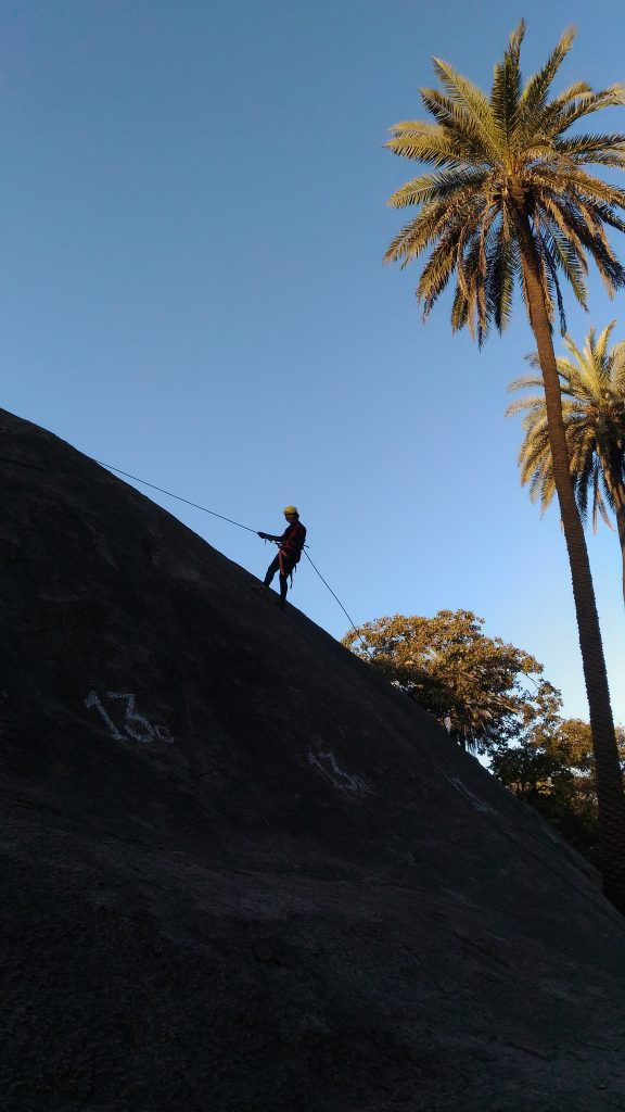 rock climbing and rappelling in mount abu