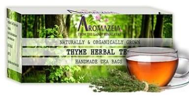 benefits of thyme tea