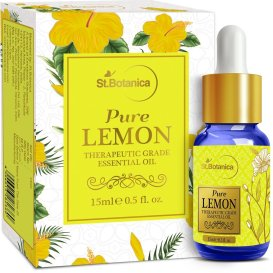 LEMON ESSENTIAL OIL for hair growth