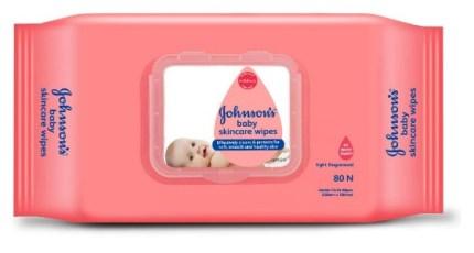 Johnson baby wet wipes