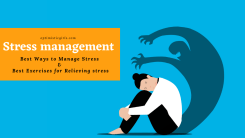 21 Best Ways for Stress management with Best Exercises for Relieving stress