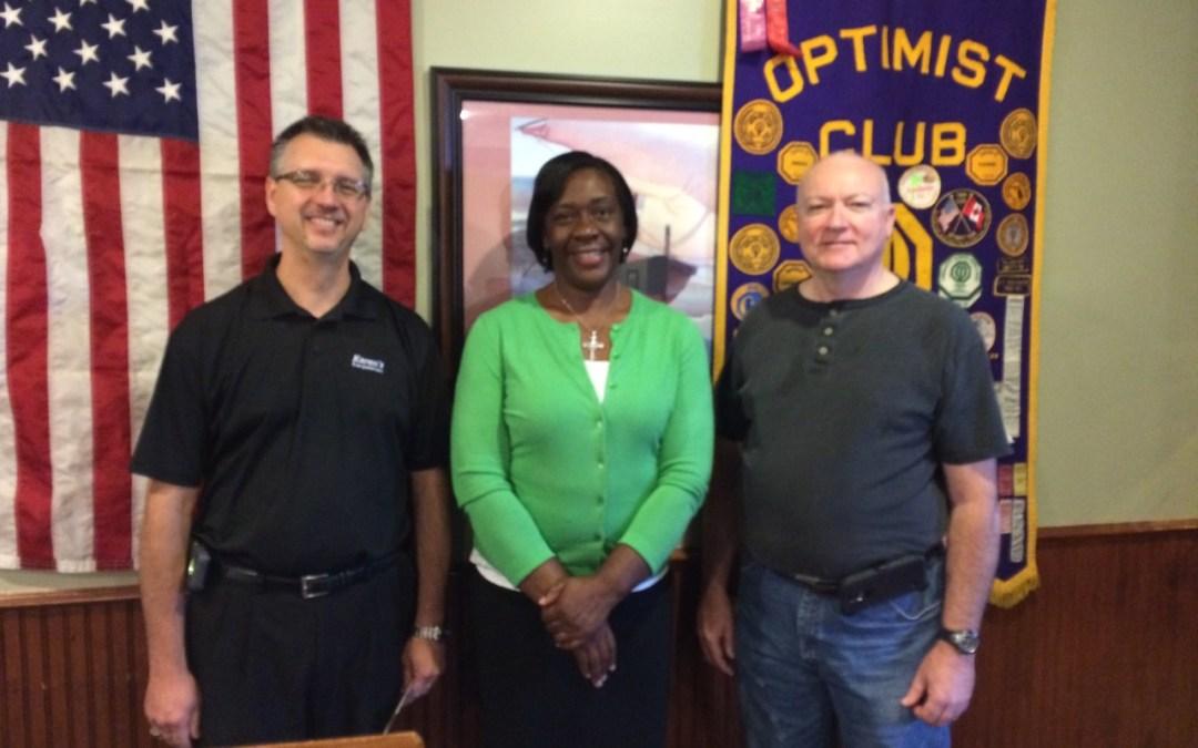 West Flint Optimist Club Newsletter – 8/27/15