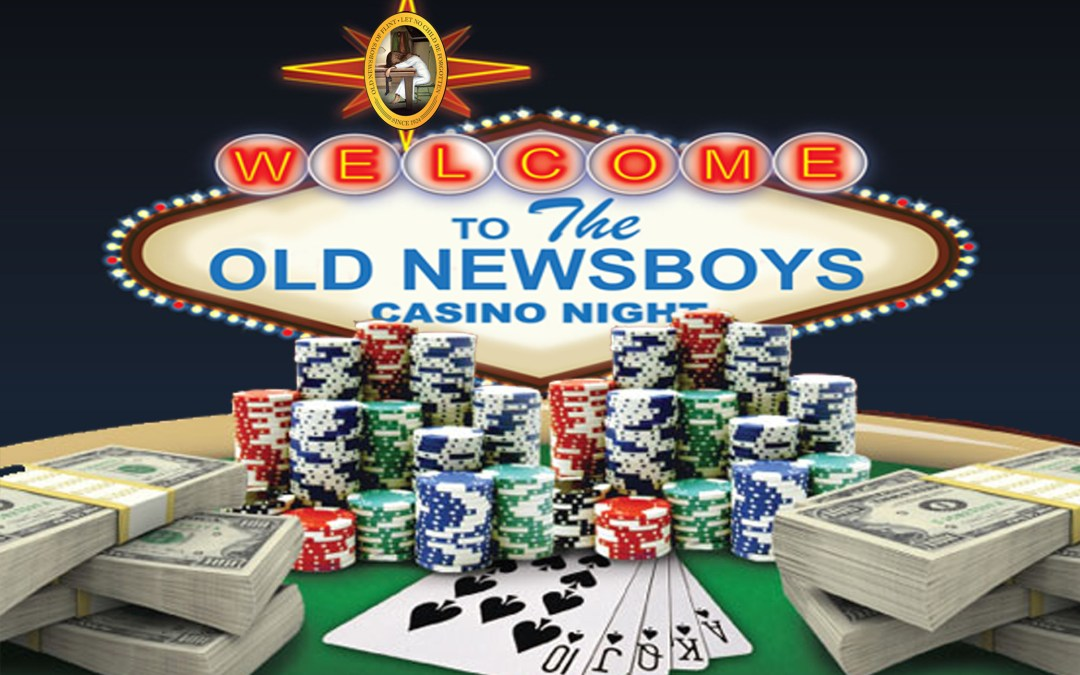 Casino Night 2015 Hosted by Old Newsboys of Flint on October 3rd