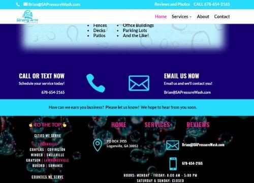 Service Business Website Design