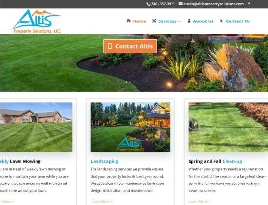 See our work! Website Design Portfolio and Gallery for your Enjoyment 17