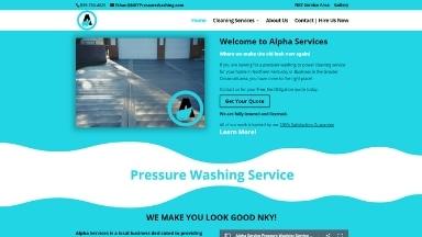 Alpha Services Website