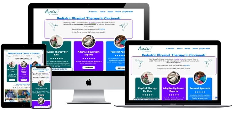 AspireTherapy4Kids com website