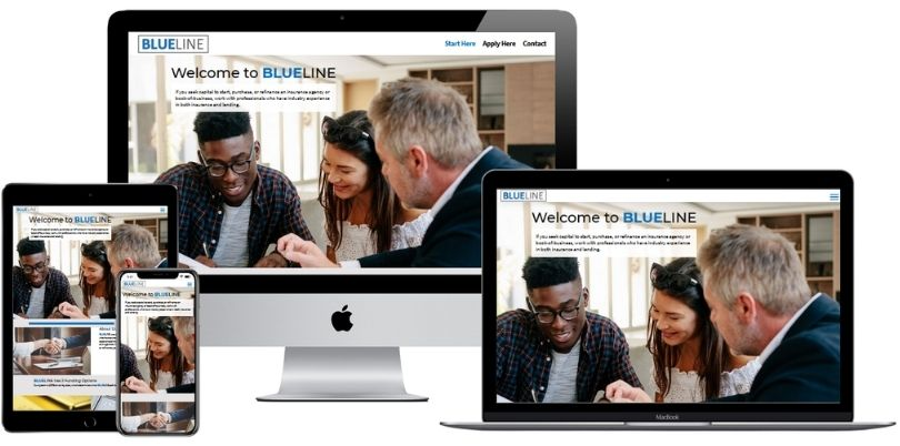 Blueline biz website
