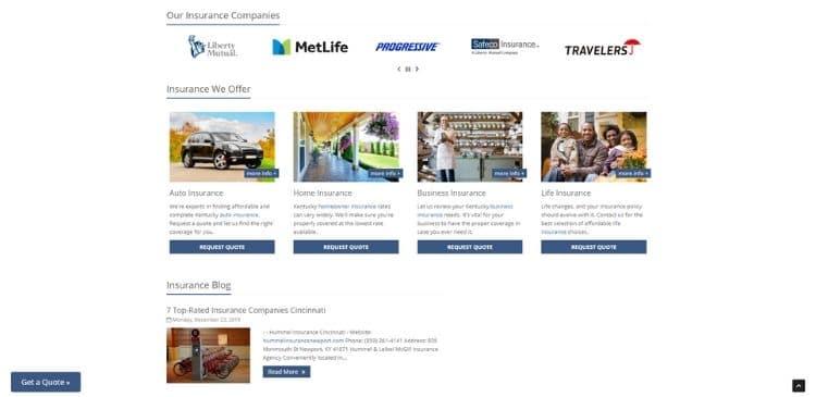 Insurance Business Online Presence Management