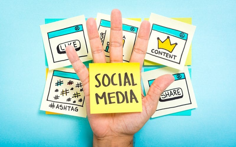 Social Media coming in Handy