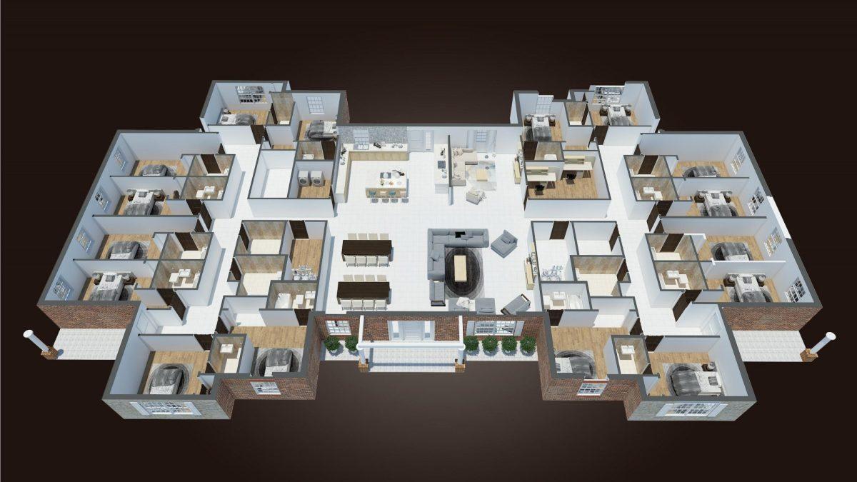 Floor Plan Layout - Optimized Senior Living Group (Lebanon, Ohio)