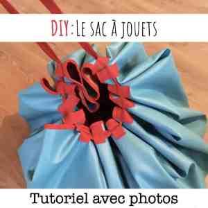 tutoriel de couture pour un sac à jouets et tapis de jeu multifonctions