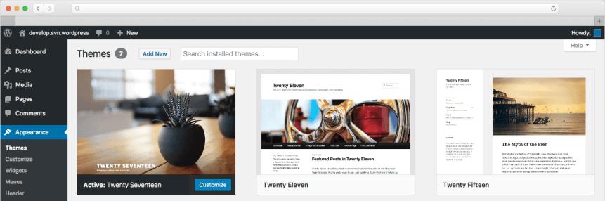 wordpress platform vs website builder