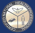 Certified Natural Health Professional's Logo