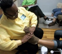 detox with foot massage