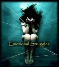 Woman with Emotional Struggles