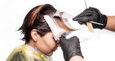 Hair Dyes: A type of paint contain lead