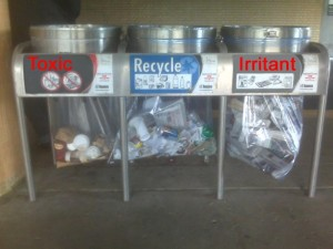 toxins - Sorting Garbage