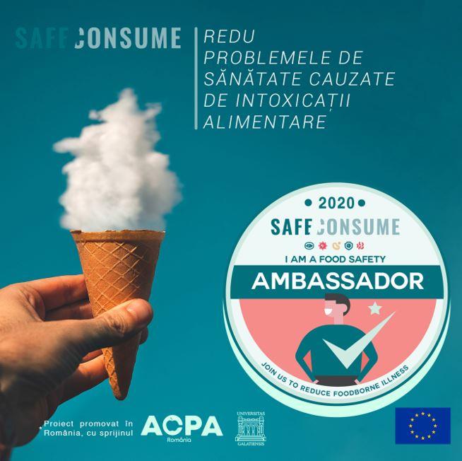 Afise realizate Campanie SafeConsume