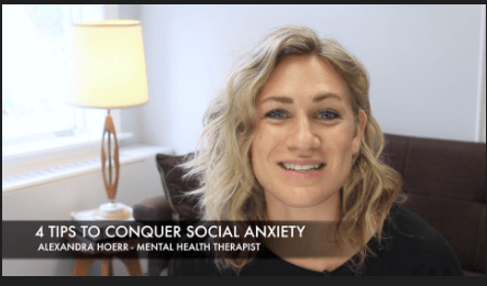 4 Tips to Conquer Social Anxiety [VIDEO]