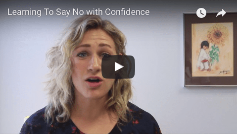 Learn to Say No with Confidence [VIDEO]