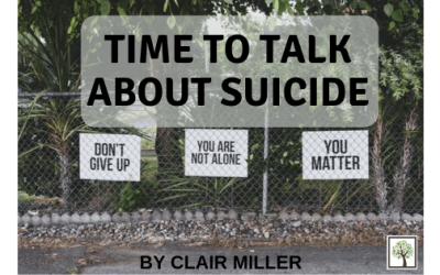 Time to Talk About Suicide