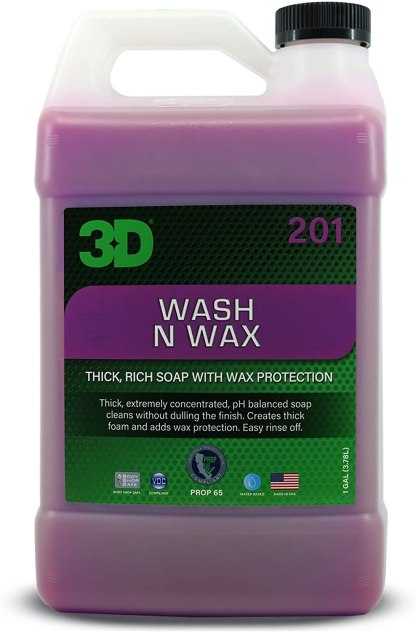 3d Wash and wax 1 gallon optm