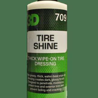 3d tire shine optimum motor sport