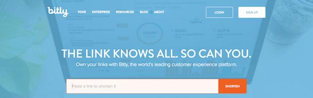 herramientas de marketing en redes sociales - bitly