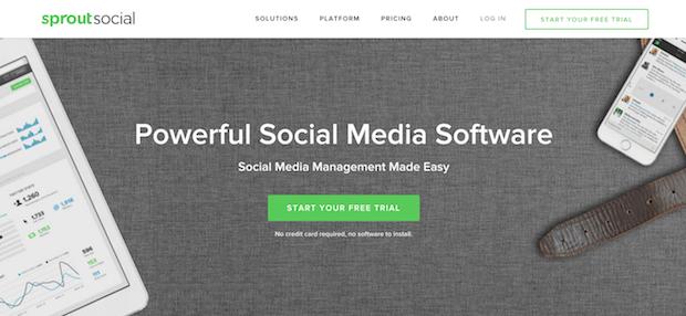 herramientas de mercadeo social - sproutsocial