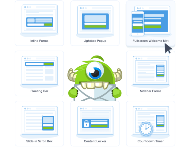 OptinMonster Campaign Types