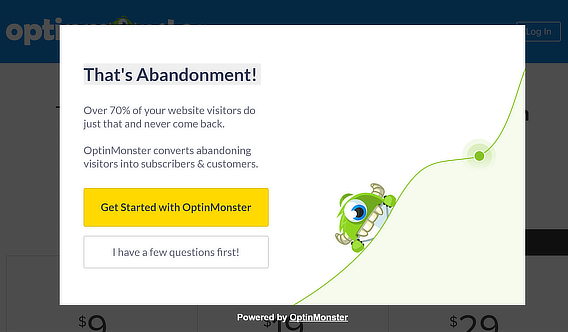 optinmonster collecting customer feedback