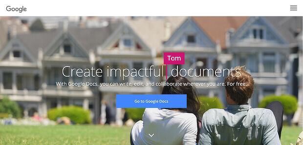 utilizzare Google Documenti come strumento di creazione dell'aggiornamento del contenuto