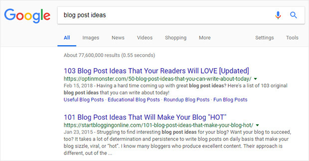 quick check your ranking in search results