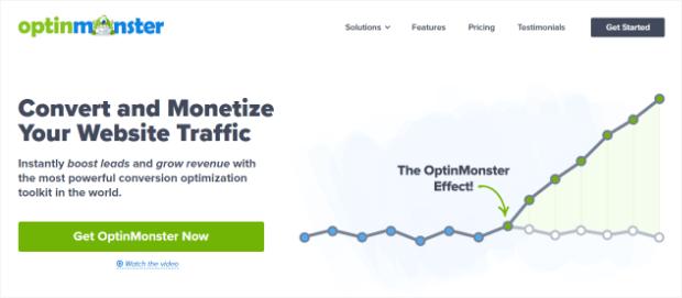 optinmonster es el mejor generador de leads para redes sociales
