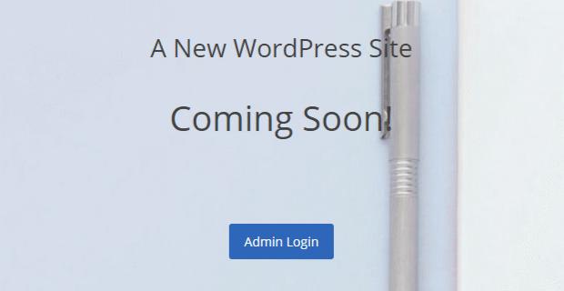 new-wordpress-site-default